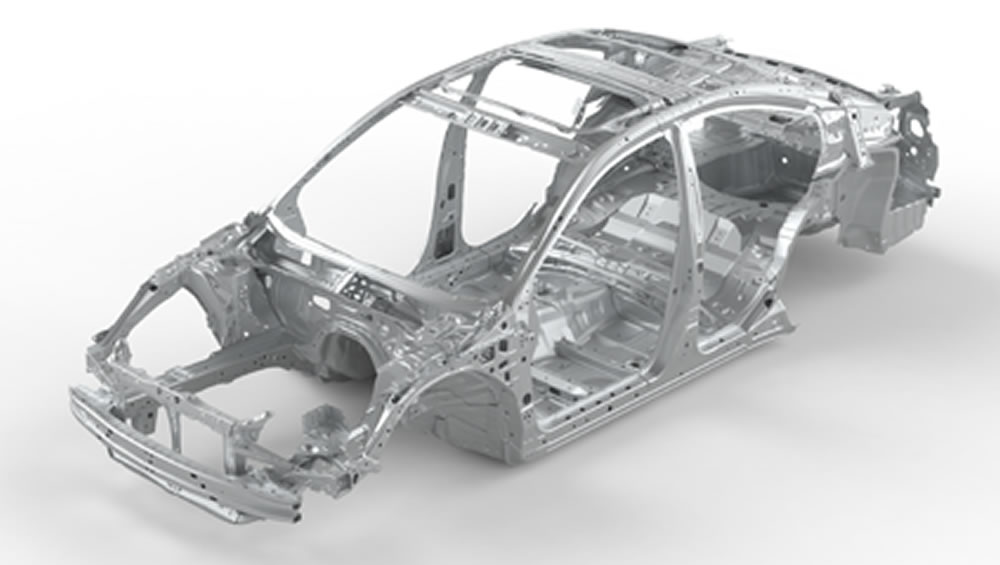 2020 Subaru Legacy Advanced Ring-shaped Reinforcement Frame