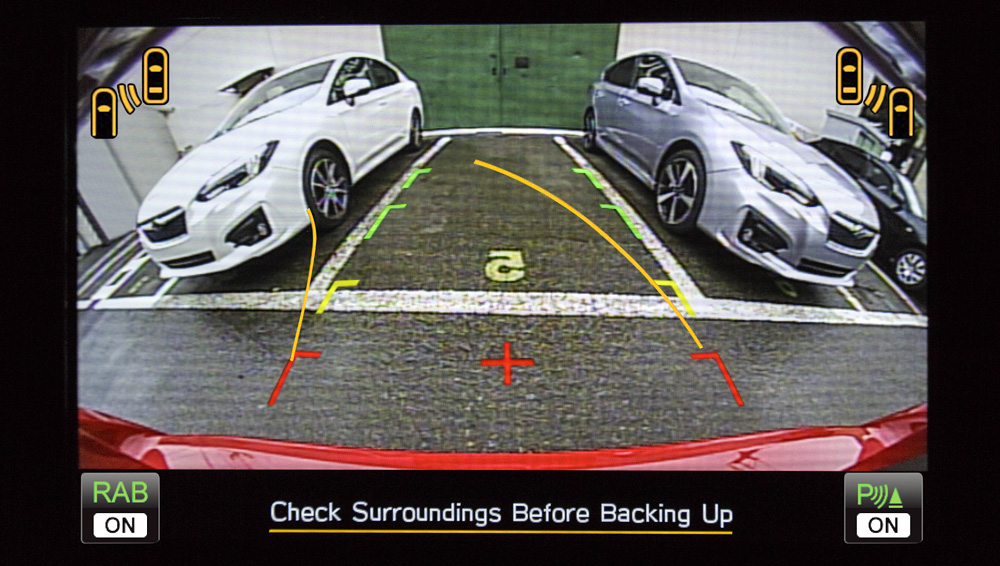 2020 Subaru Impreza Rearview Camera