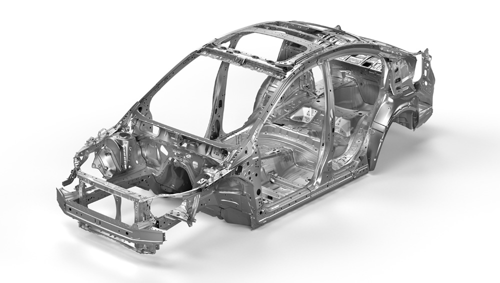 2020 Subaru Impreza Advanced Ring-shaped Reinforcement Frame
