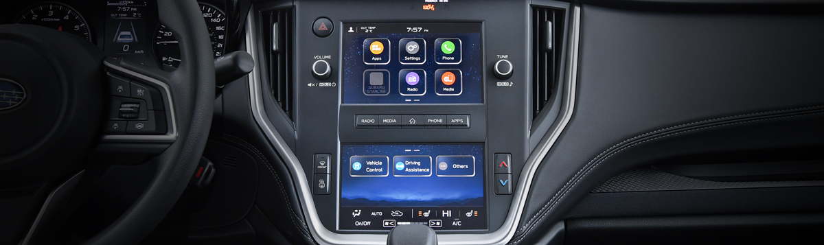 Dual 7-inch Infotainment System