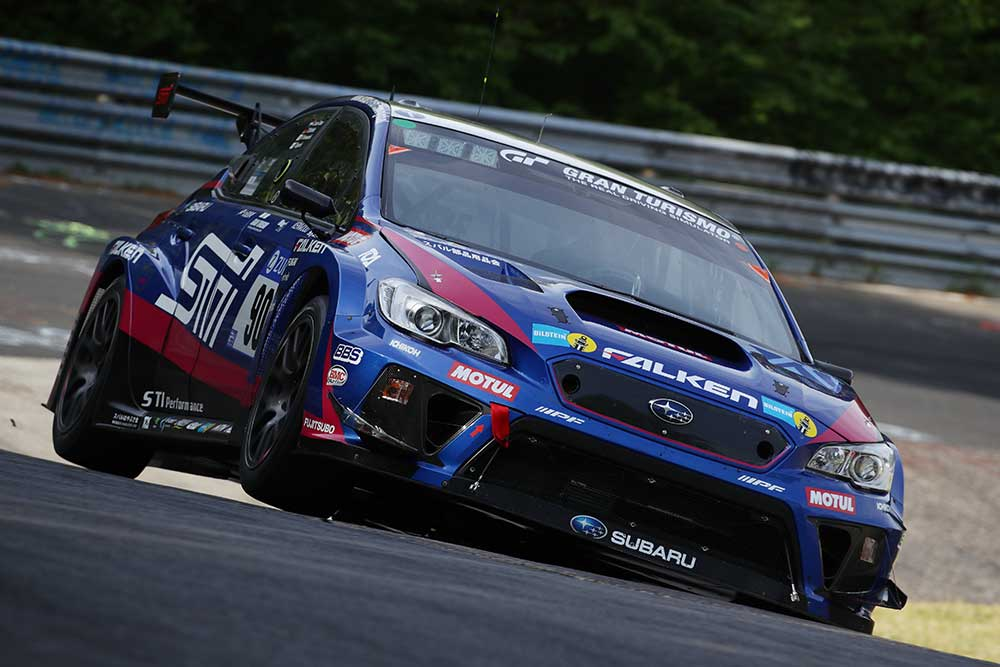 STI finished first in its class at the 2018 Nürburgring 24-Hour Race in Germany