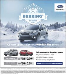 Forester Promotion